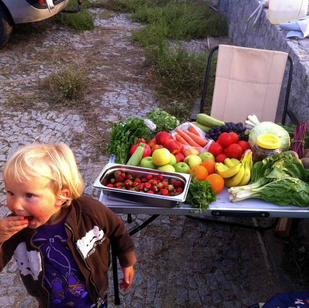 Türkei- Markt Tag - Rohkost ist Frohkost- reisen mit Kind-Überleben