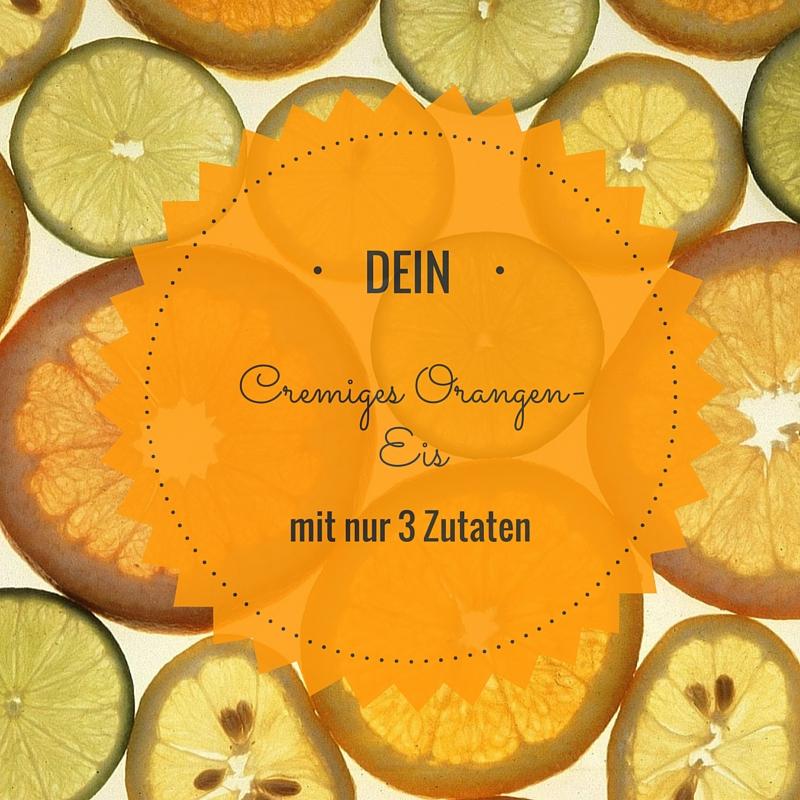 Orangen Eis in 2 Minuten- Rohkost- 3 Zutaten- Allergiefrei- Zuckerfrei-Glutenfrei- Vegan- Paleo- Kinderfreundlich- Zuckerfrei- ohne Eismaschine