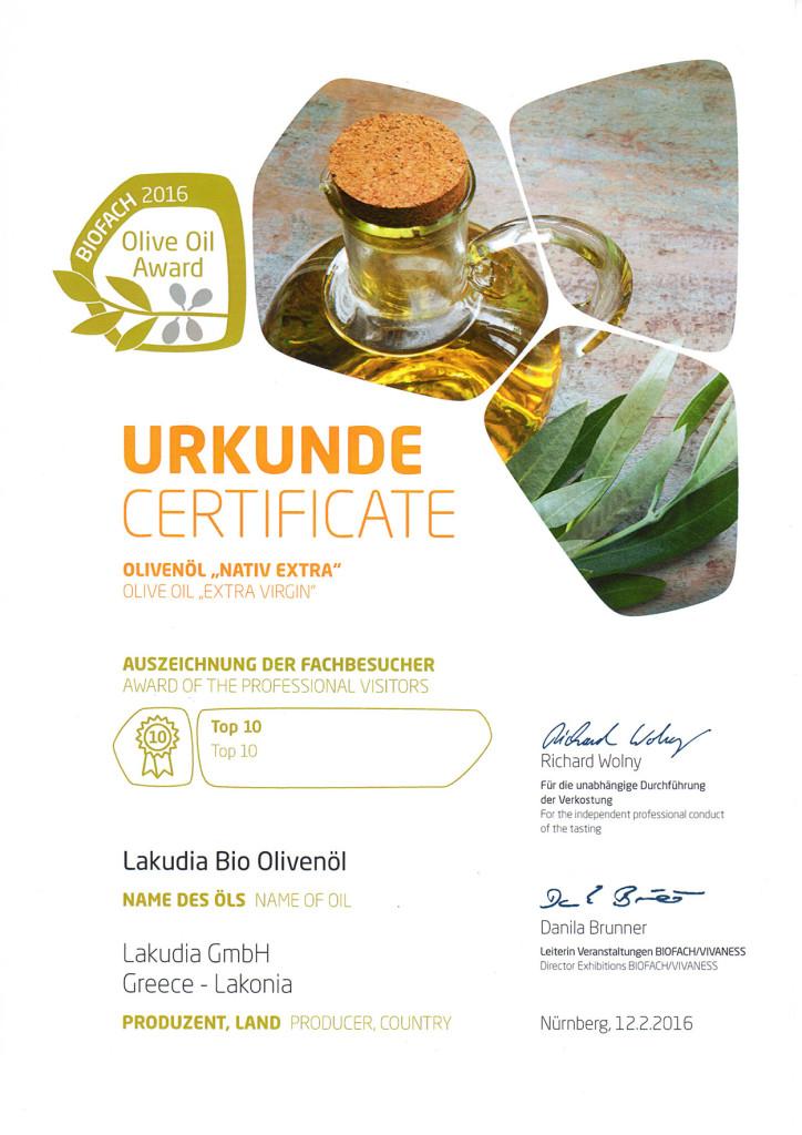 Urkunde-Biofach-2016