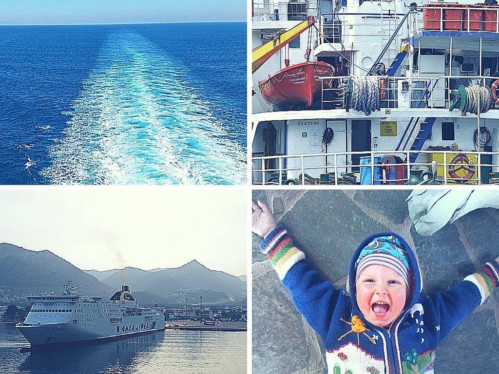 Camping an Bord- Ferry - reisen mit Kind- Griechenland- Überwintern-Familie- Family Travel-#reisenoderverweilen