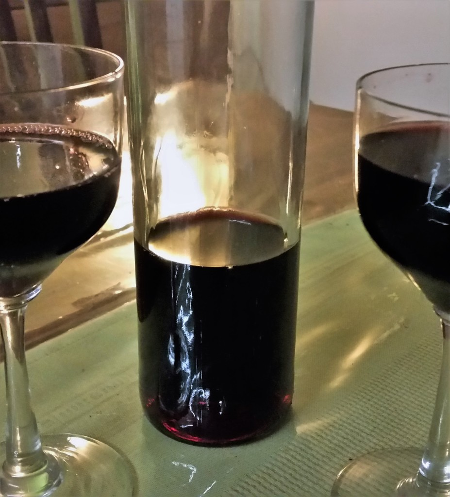 Schlehe- Schlehen Wein-Abend-Ruhe-Selbstgemacht-selfmade