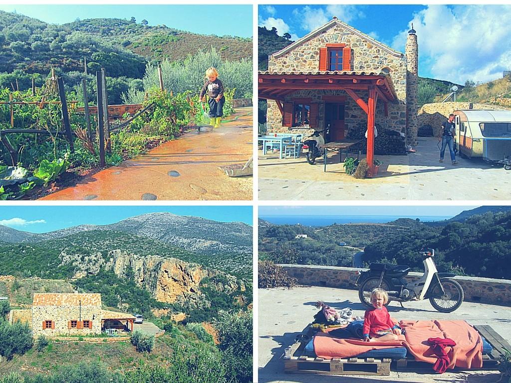 Griechenland- Überwintern- reisen mit Kindern- günstig-Caravan- Qek Aero-Olivenöl