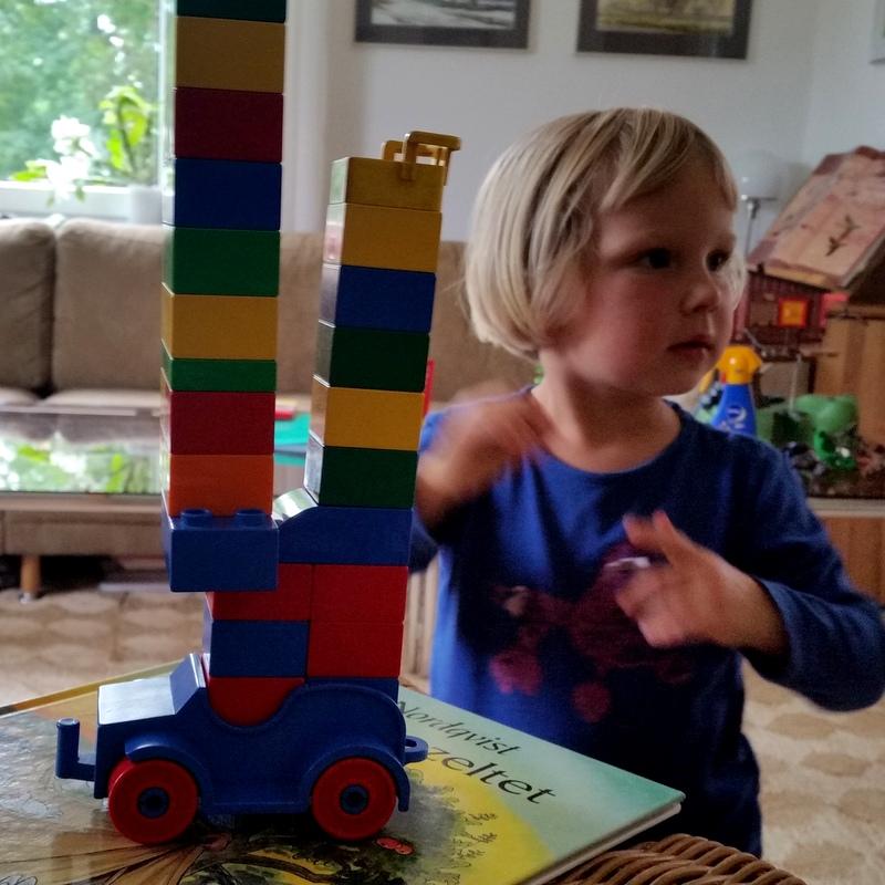 Lego duplo- spielen- frei- Kindheit- Attchment Parenting- Erfurt