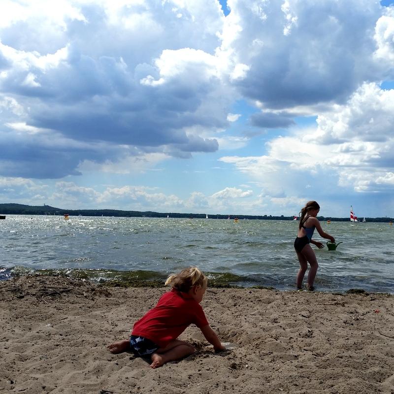 Strand- Kinder- Freiheit- Müggelsee- Picknick