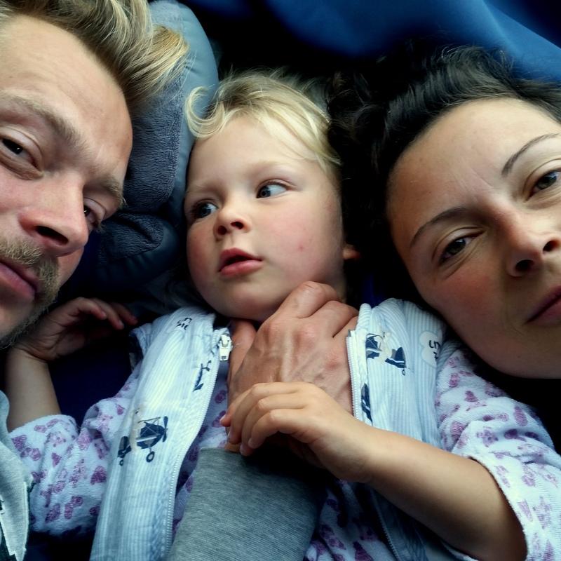 Guten Morgen- Familienbild