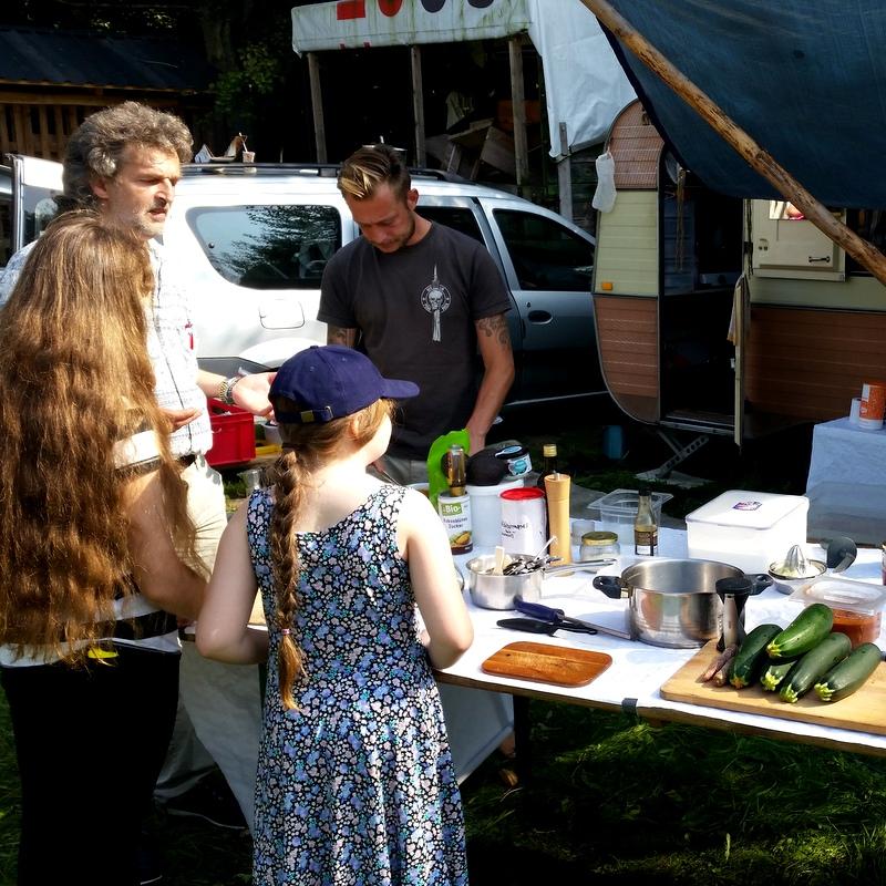 Rohkost Workshop- Raw Food Course- Schulfrei Festival