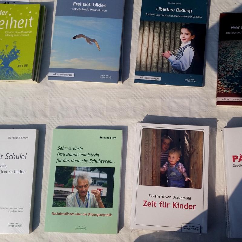 Fachbücher- Bertrand Stern- Freilerner- Schulverweigerer
