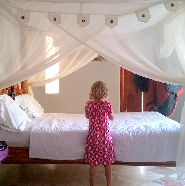 Bali Guten Morgen mein Kind digitale Nomadenfamilie gemeinsam Familie reisen mit Kind Freilerner Aussteiger