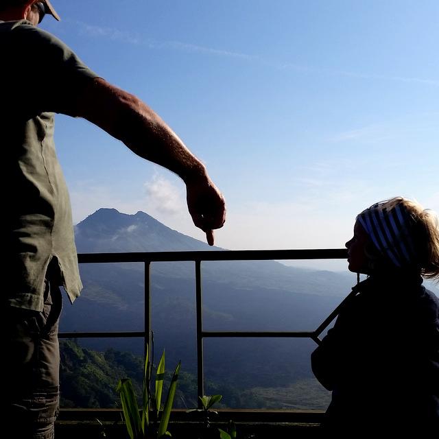 Vulkan Bali Freilernen Geschichte Geographie Naturkunde