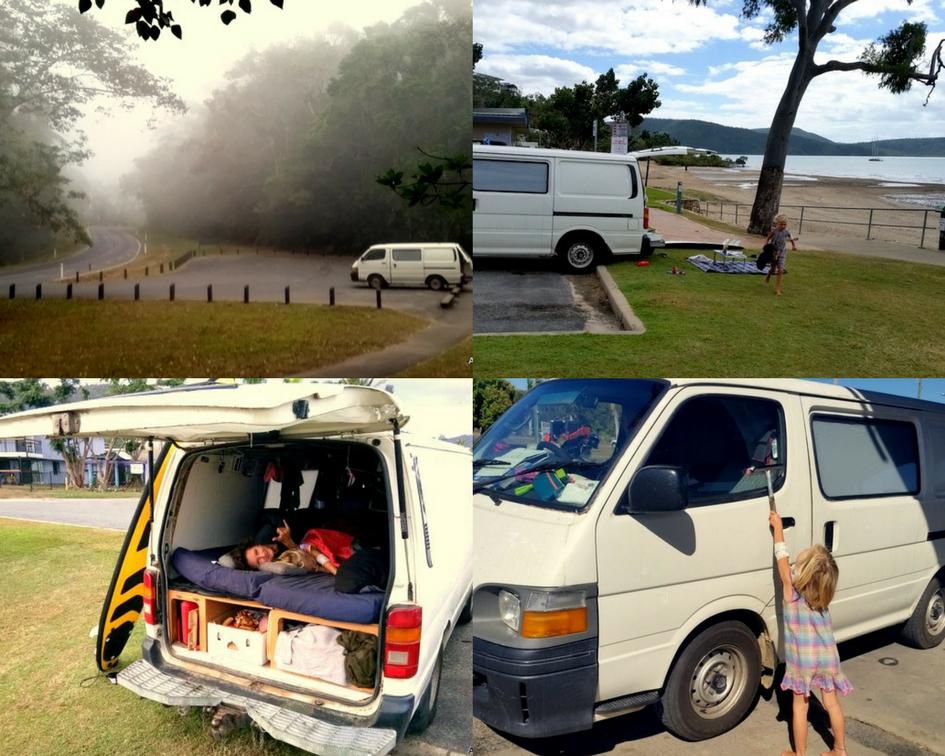 Familienreise, leben im Van, mit Kind reisen
